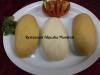 Fufu(manioc) ou Foutou(plantain) Sauce Mafé au boeuf