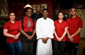 Le Chef et son equipe